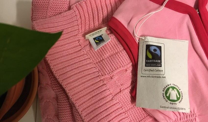 Roze deken en slaapzak